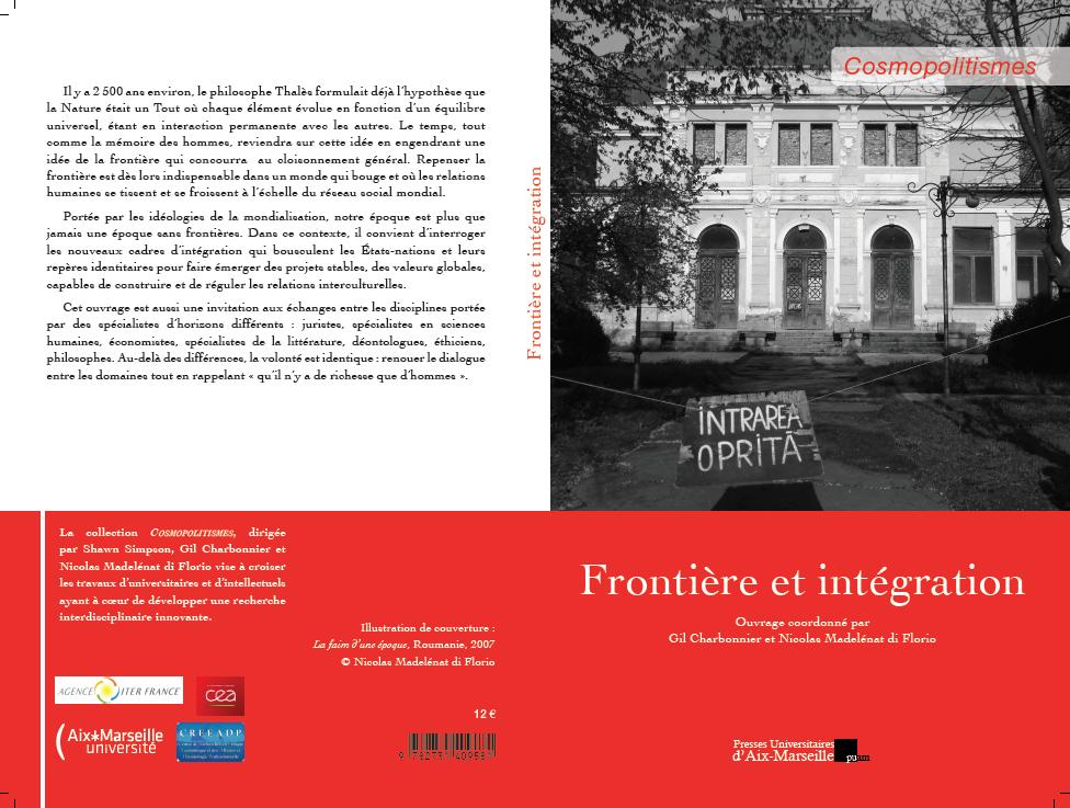 Volume Frontière et intégration, PUAM, 2014